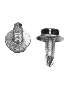 1/4-20 x 5/8 Drill Quick Screws - Plated 250 pcs