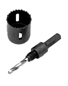 Hole Saw Mandrel 3/4in-1in -3/8in Hex Shank