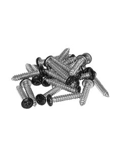 CDH10-Screws  National #10x1 Black Screws 25/pkg (222495)