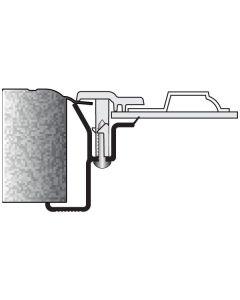IMF-1OD170 BR10 EXTERIOR ONLY Caulked Frame for Overhead