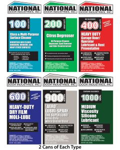 LUBE SAMPLER National Large cans